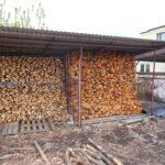 drewno opałowe - sezonowane